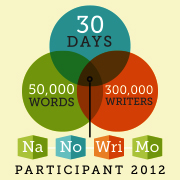 NaNoWriMo Web Badge