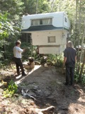 levelling the trailer (p. bustin 2012)