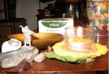 pam's desk altar (p bustin 2012)