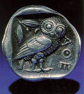 Athena's Owl - shiny bit of MUSE bling
