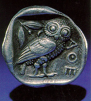 Athena's Owl - shiny bit of MUSE bling