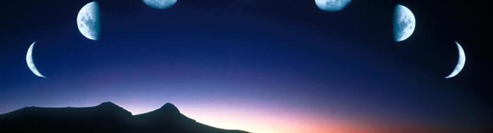 Moon Painting by Dr. Clarissa Pinkola Estes