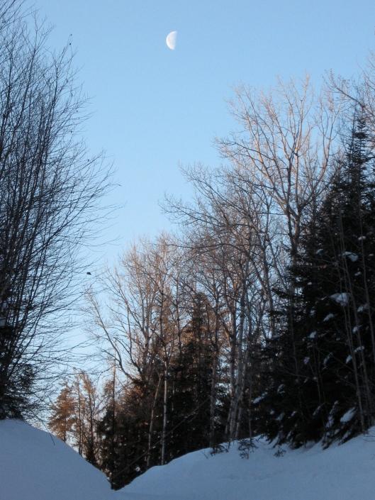 SNOW moon Last Quarter
