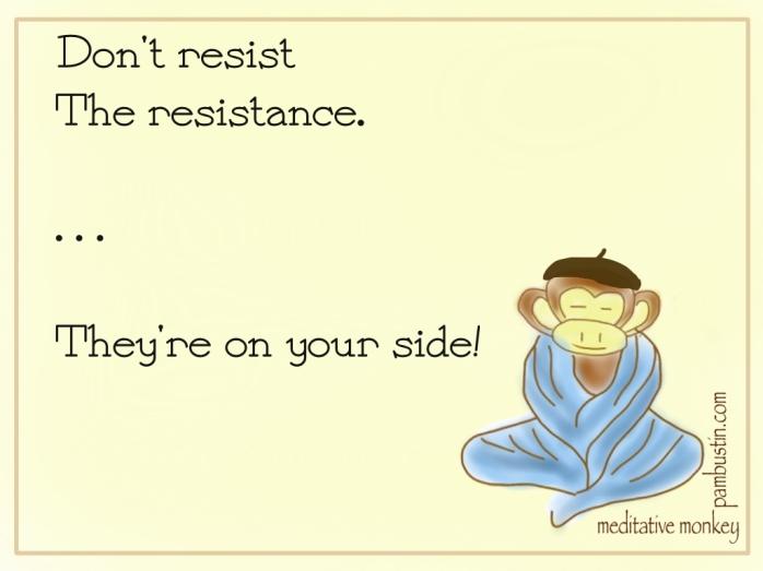 Meditative Monkey - Resistance (P Bustin 2013)
