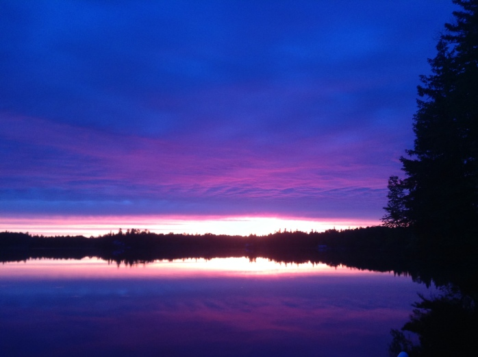 Sunrise on the Kebsquasheshing